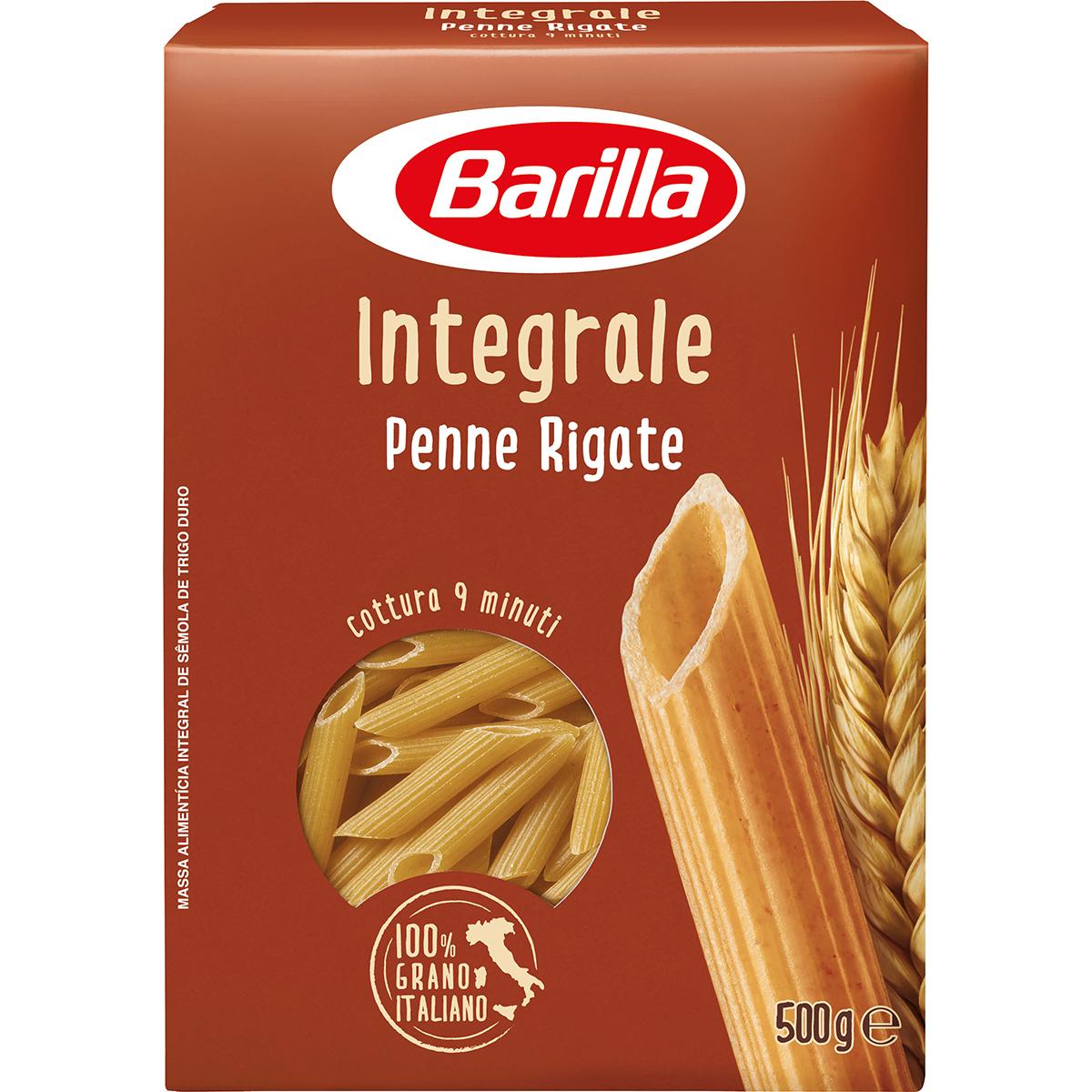 Paste Penne Rigate Integrali Barilla, 500 g imagine