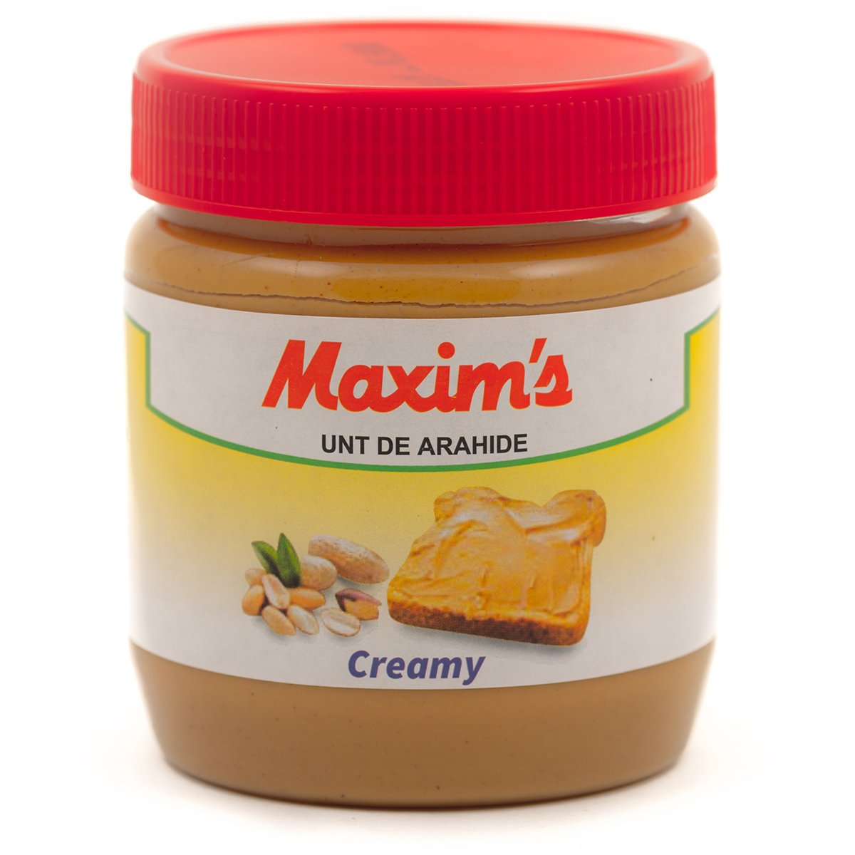 Unt de arahide Maxim's Creamy, 340 g imagine