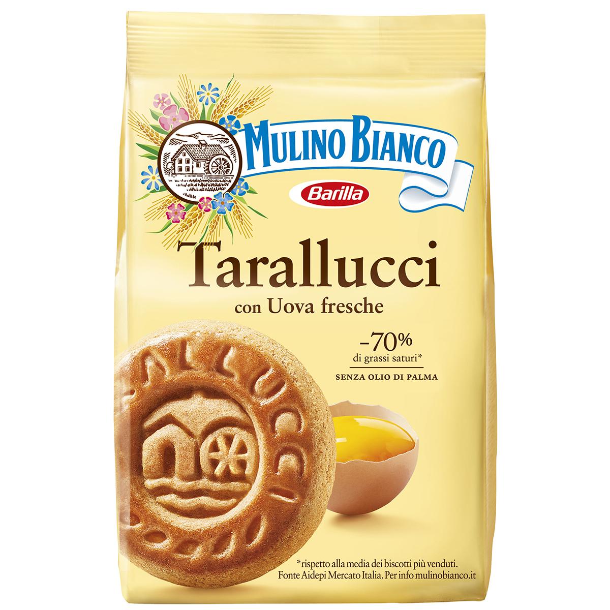Biscuiti Tarallucci cu oua proaspete Mulino Bianco, 350 g imagine