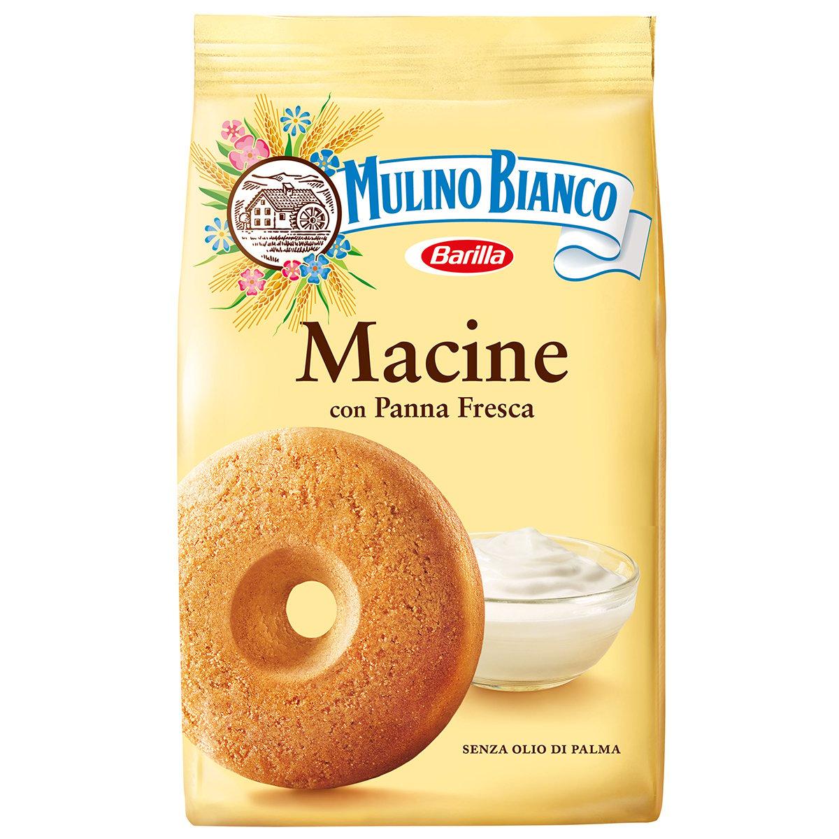 Biscuiti Macine cu smantana proaspata Mulino Bianco, 350 g imagine