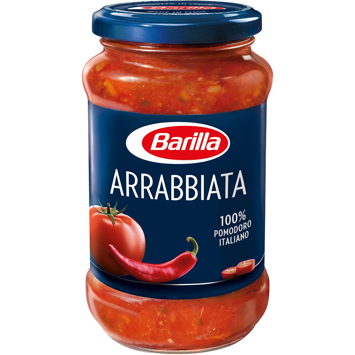 Sos pentru paste picant Arrabbiata Barilla, 400 g imagine