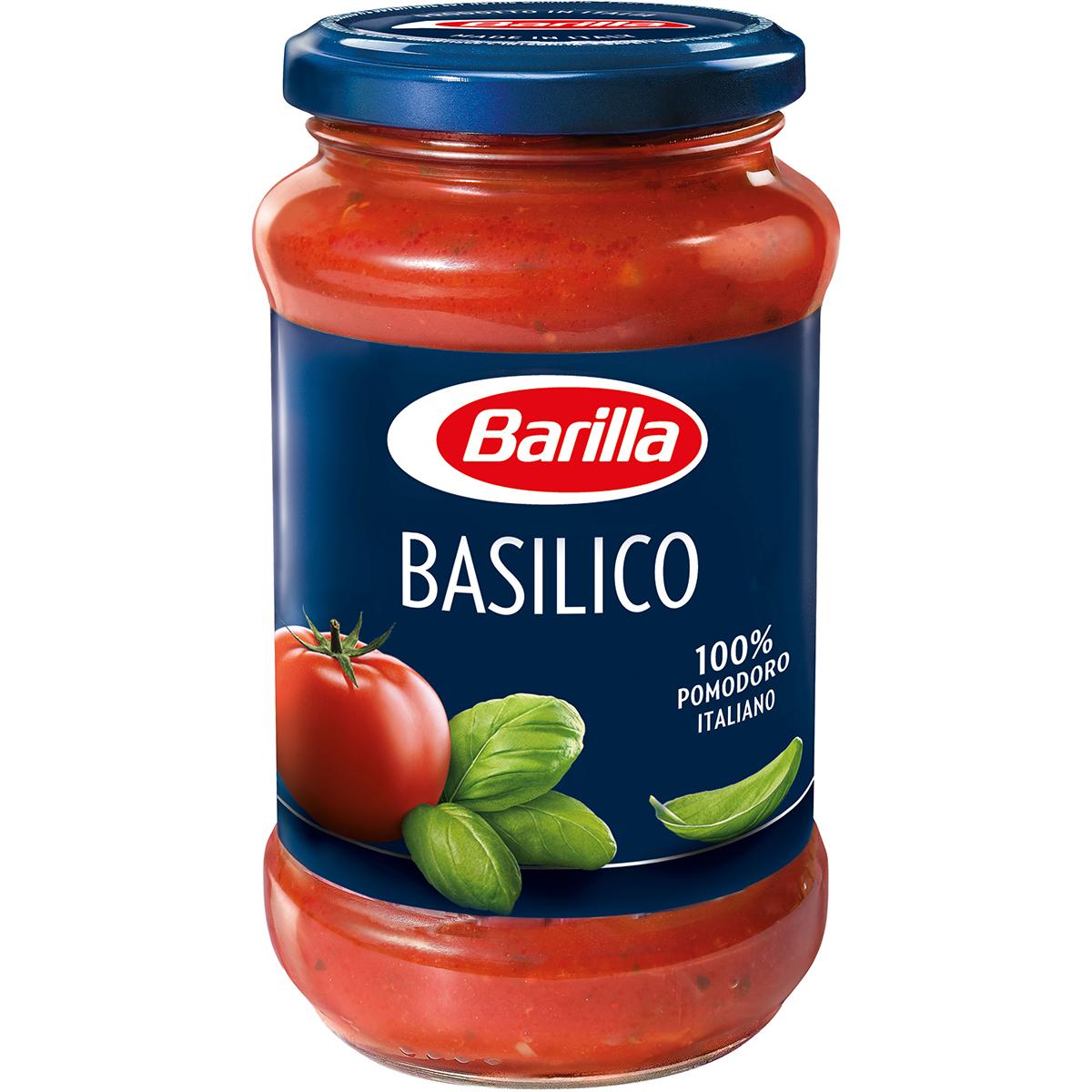 Sos pentru paste cu busuioc Basilico Barilla, 400 g imagine