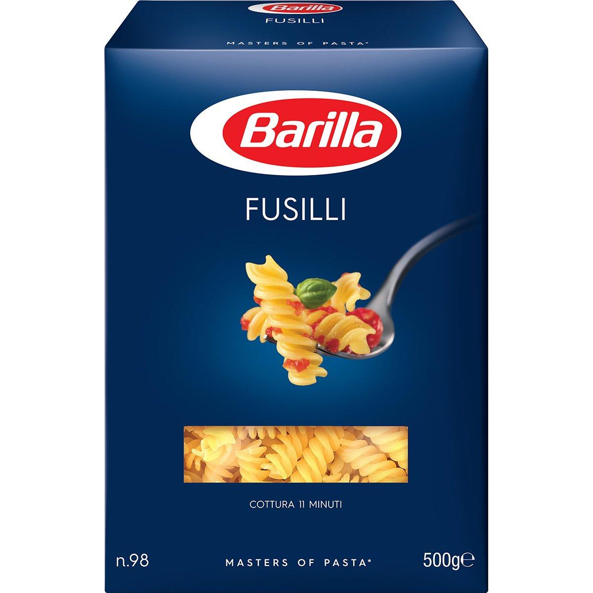 Paste Fusilli n.98 Barilla, 500 g imagine