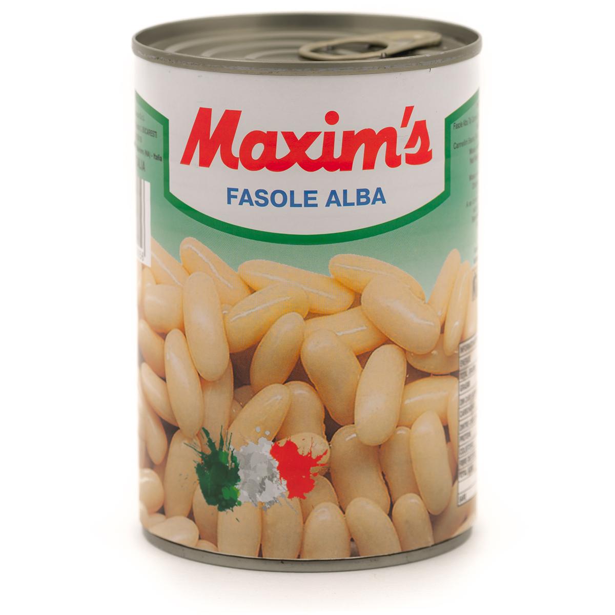 Fasole alba extra Maxim's, 400 g imagine