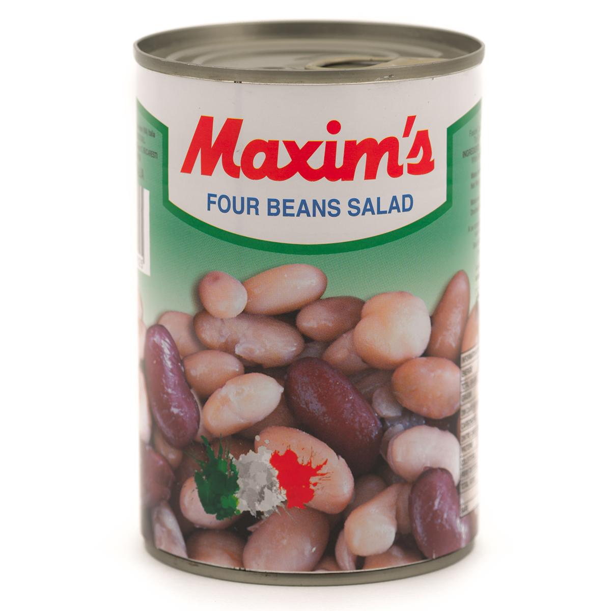 Fasole in 4 sortimente Maxim's, 400 g imagine