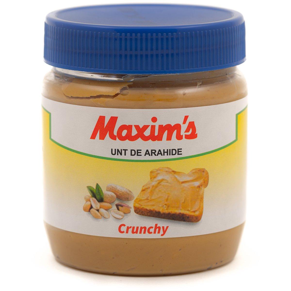 Unt de arahide Maxim's Crunchy, 340 g imagine