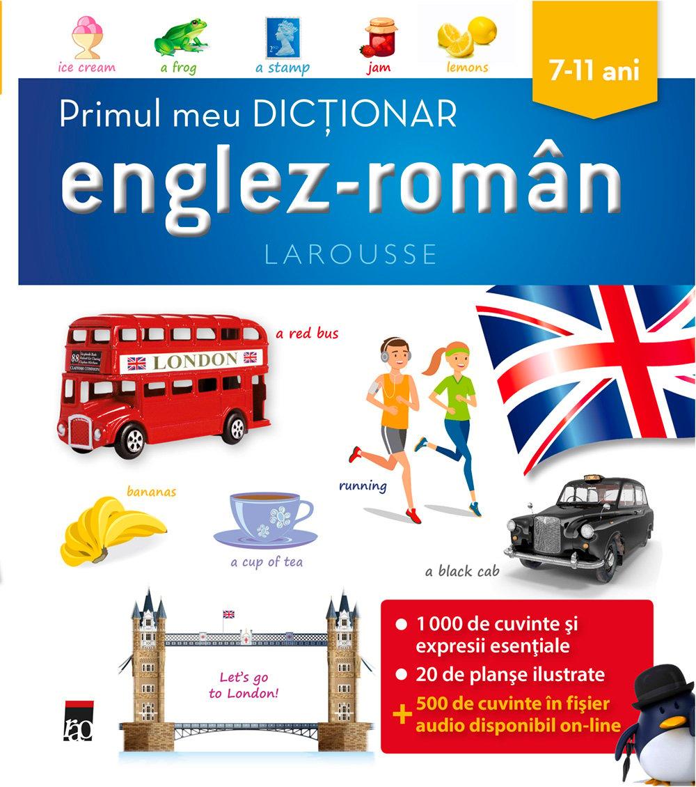 Primul meu dictionar englez-roman, Larousse