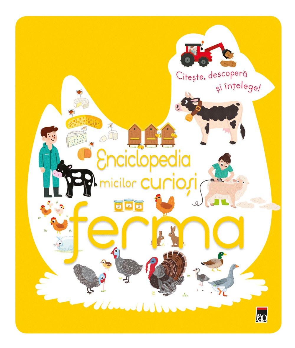 Enciclopedia micilor curiosi - Ferma, Larousse