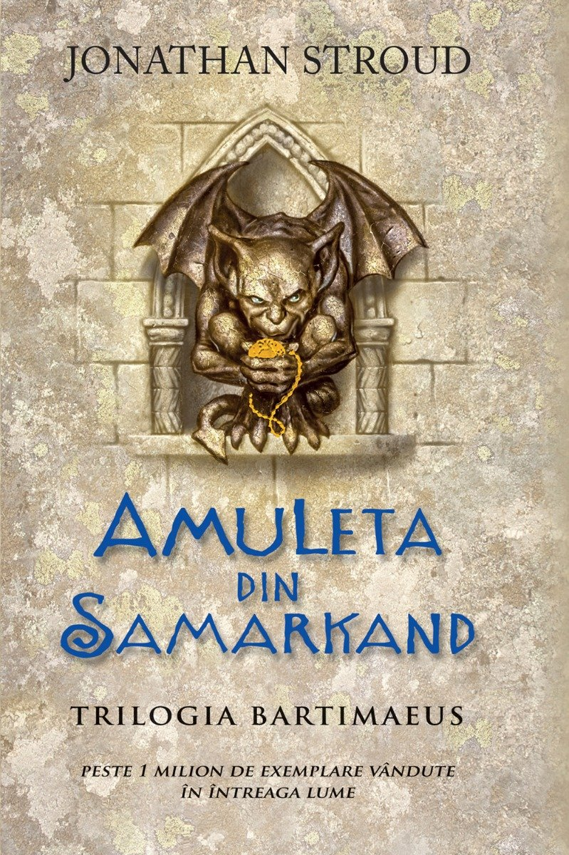 Amuleta din Samarkand, Jonathan Stroud