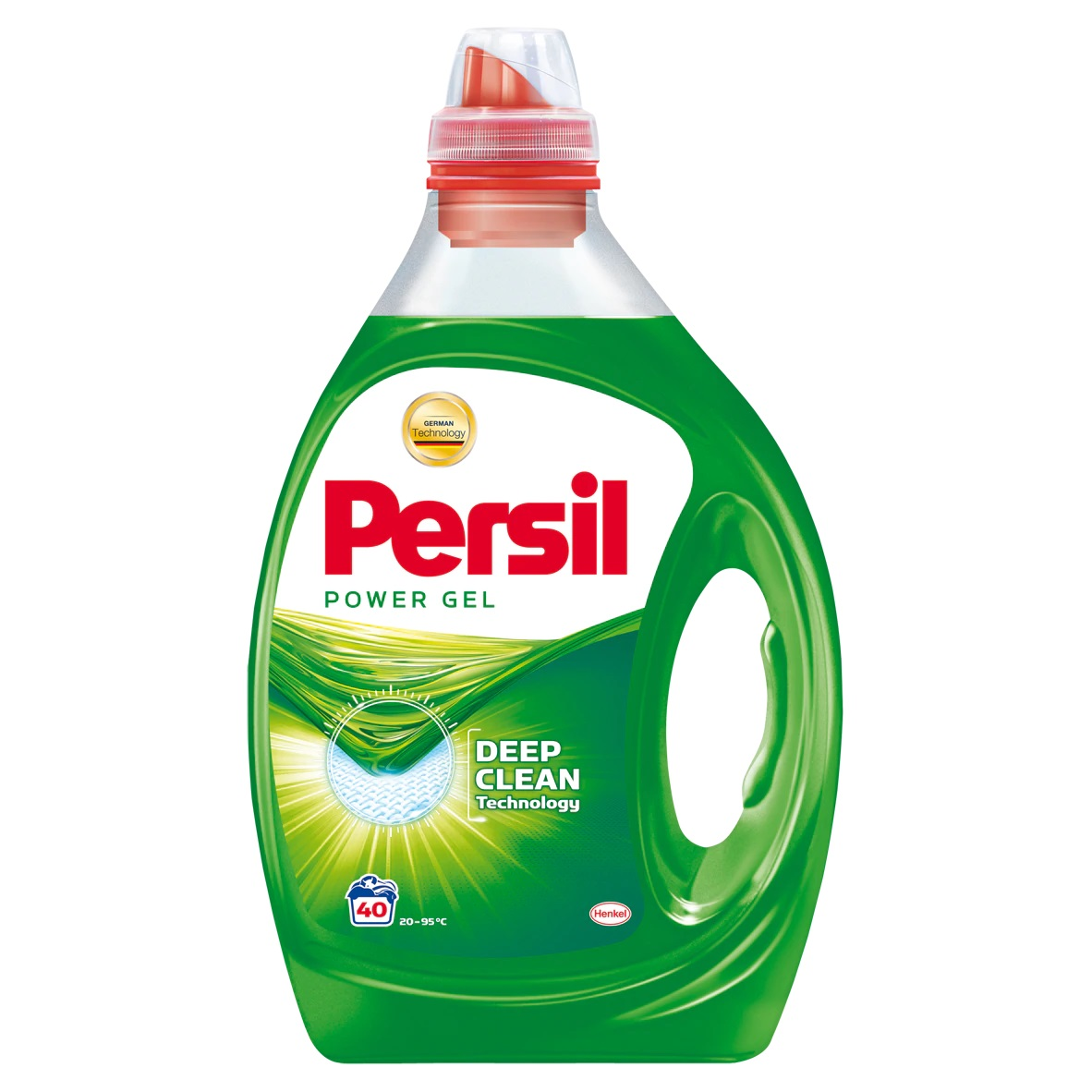 Detergent lichid Persil Power Gel Regular, 40 spalari, 2 L imagine 2021