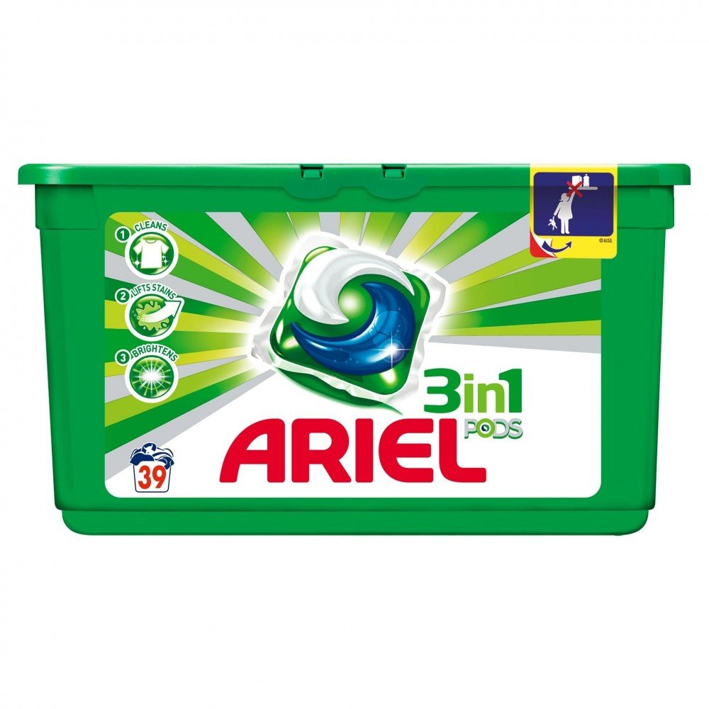 Detergent Ariel Capsule Regular, 39 x 27 g imagine 2021