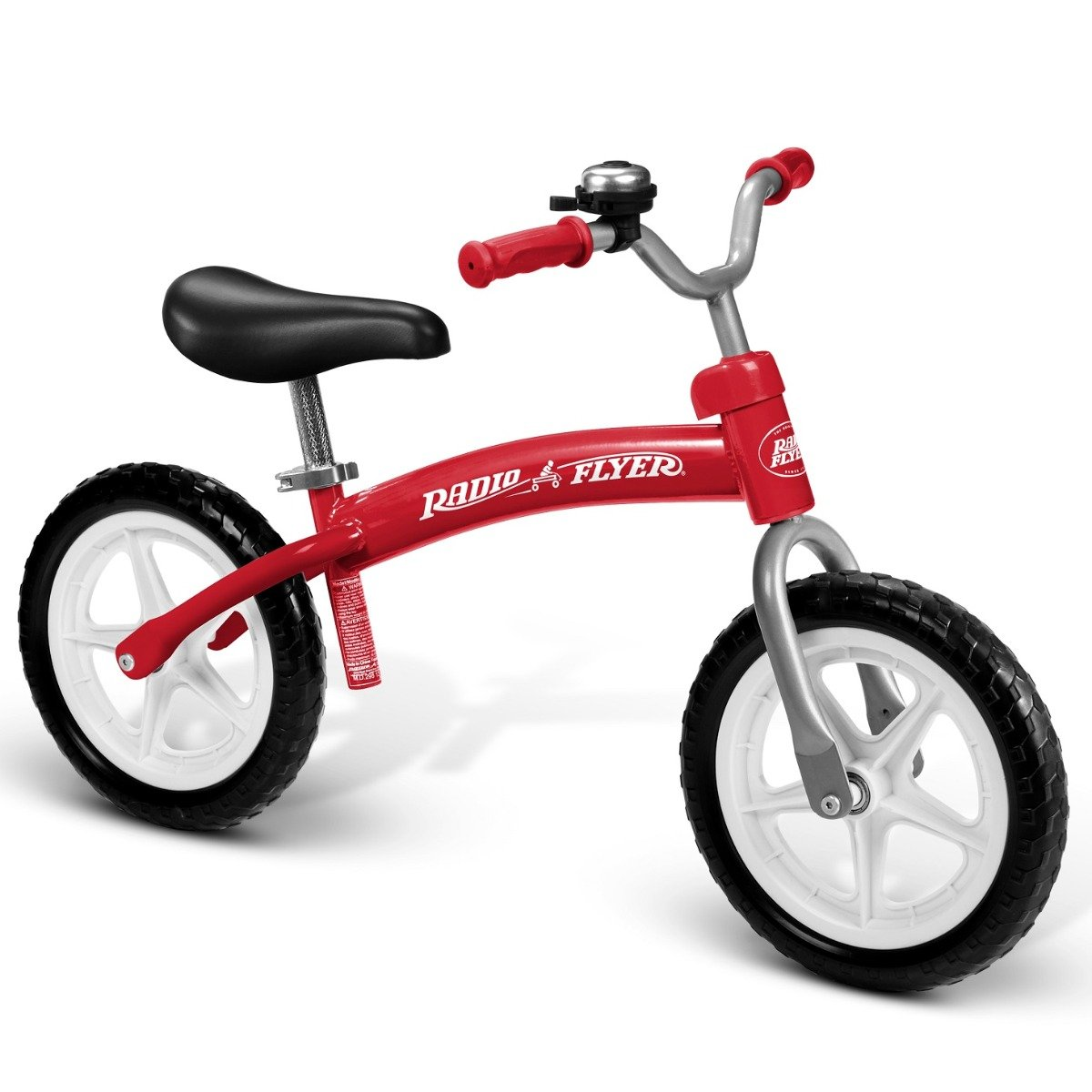 Bicicleta fara pedale Radio Flyer Glide and Go Balance Bike, Rosu