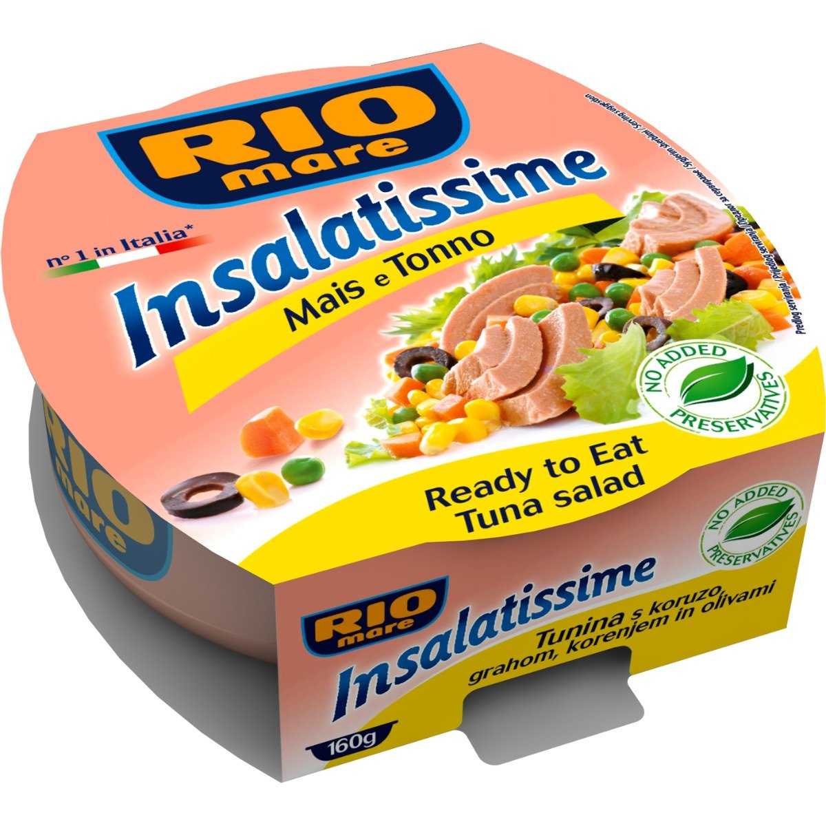Salata de ton cu porumb Rio Mare, 160 g imagine