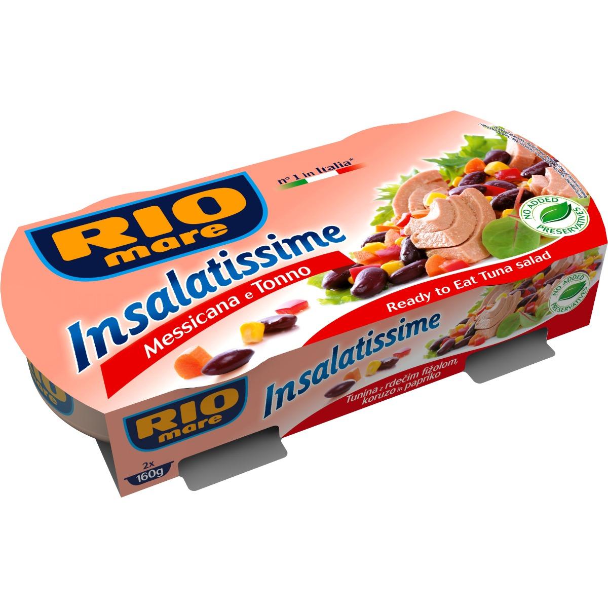 Salata mexicana cu ton Rio Mare, 2 conserve x 160 g imagine
