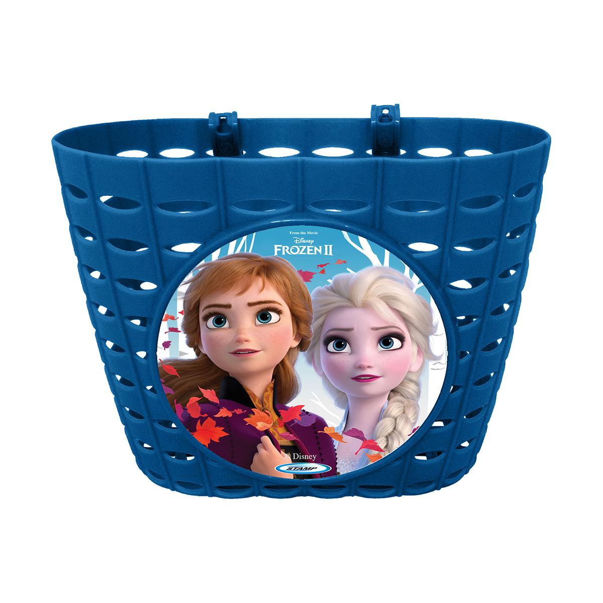 Cos pentru bicicleta Disney Frozen 2, Albastru
