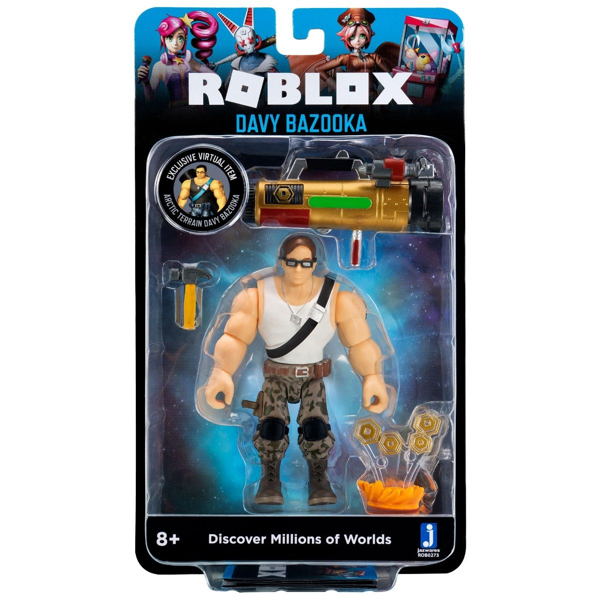 Figurina Roblox - Davy Bazooka S8
