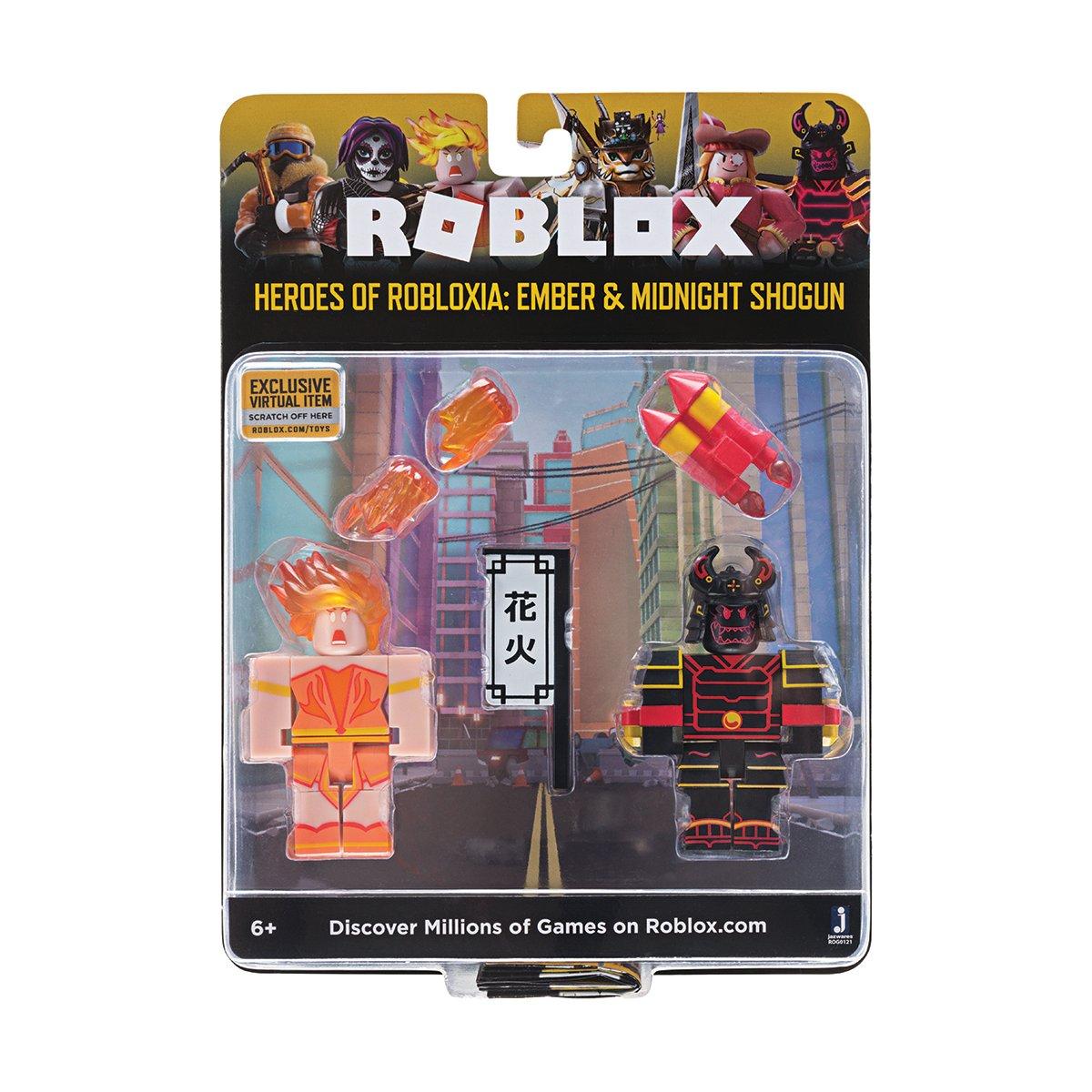 Set 2 figurine Roblox Celebrity Blistere, Ember si Midnight Shogun (ROG0121) imagine 2021