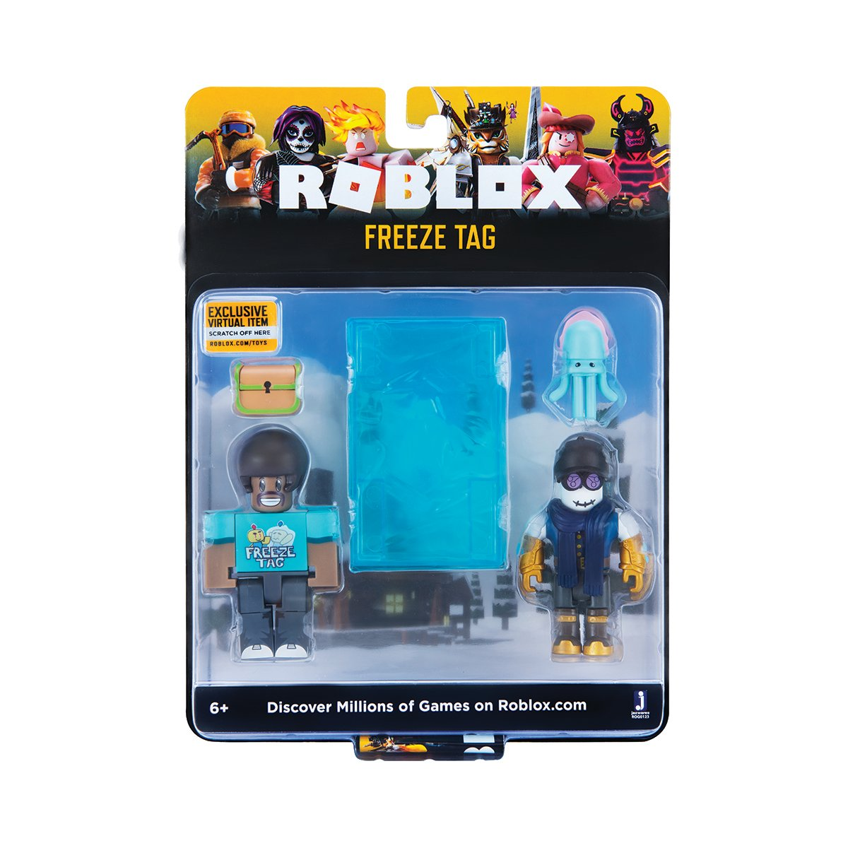 Set 2 figurine Roblox Celebrity Blistere, Freeze Tag (ROG0123)