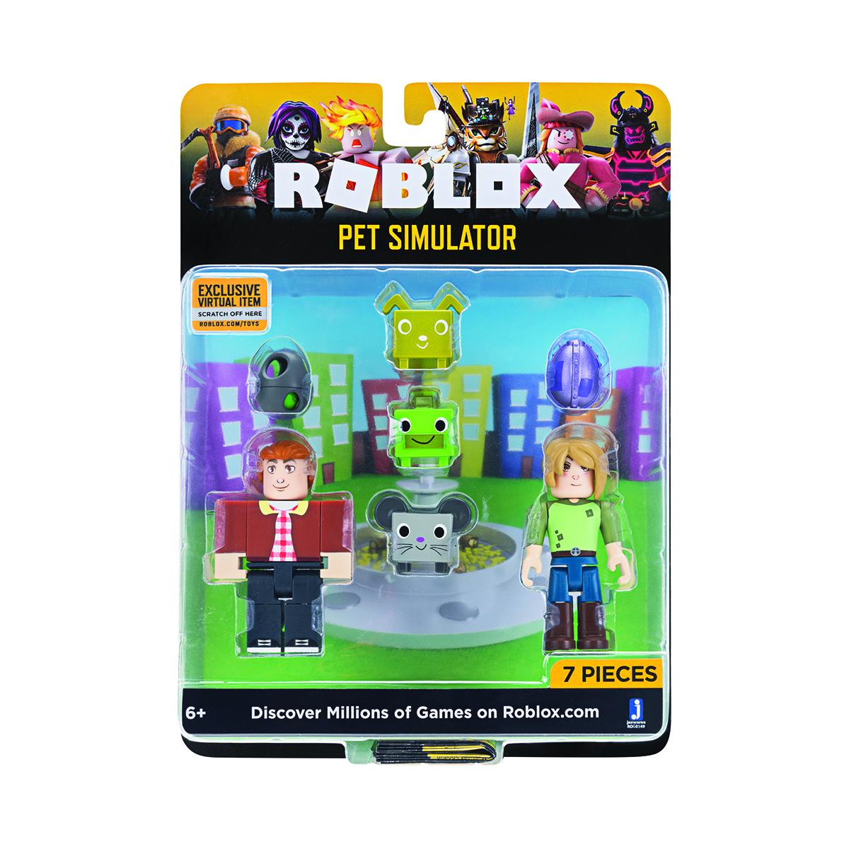 Set 2 figurine Roblox Celebrity Blistere, Pet Simulator (ROG0149)