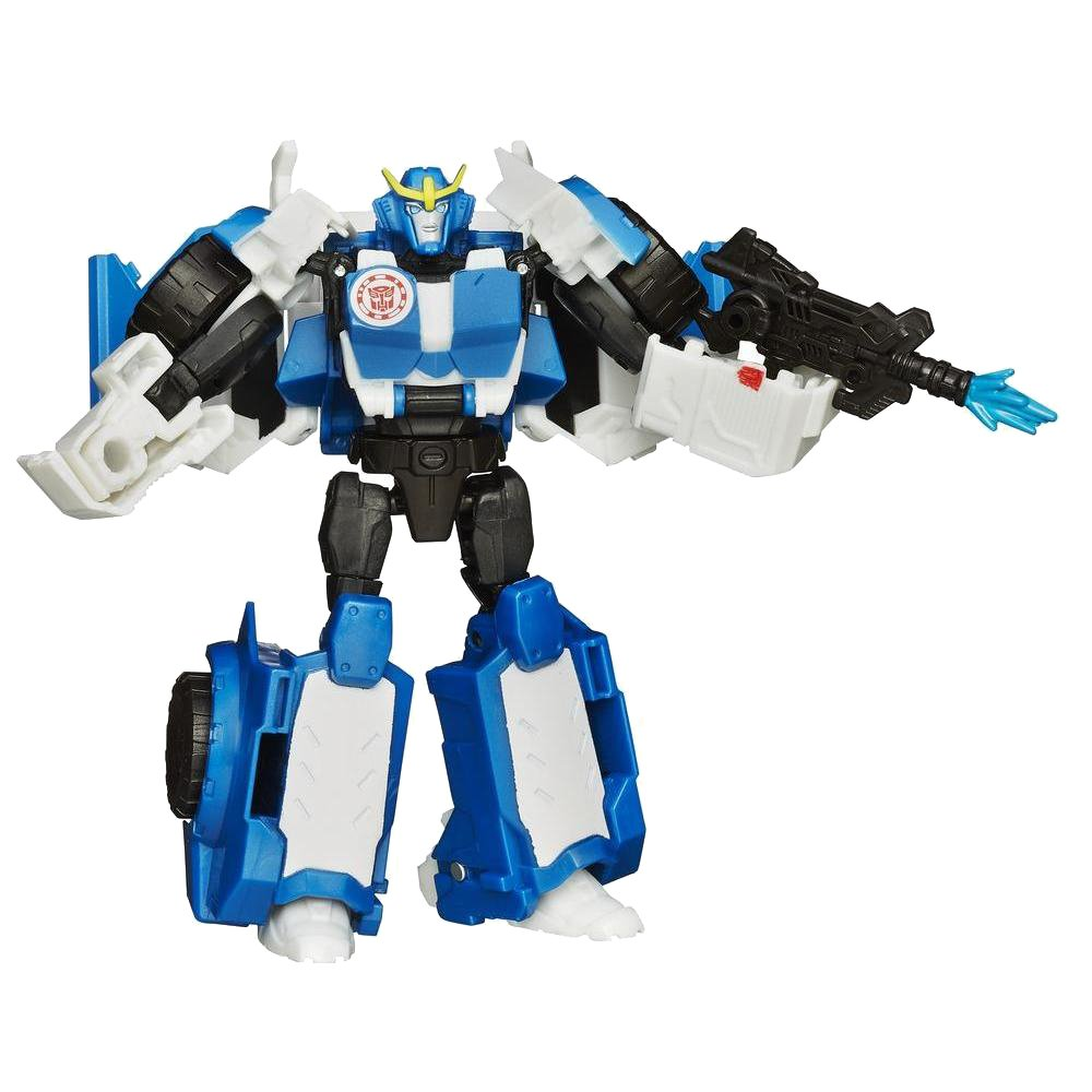 figurina transformers robots in disguise, warrior class - strongarm