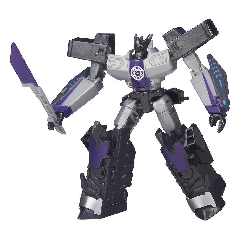 figurina transformers robots in disguise warrior class - decepticon megatronus