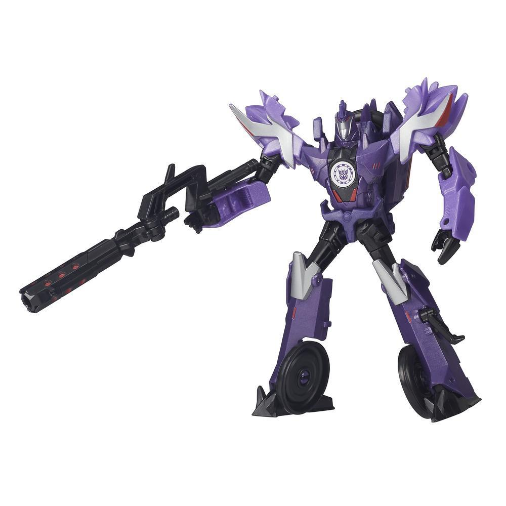 figurina transformers robots in disguise warrior class - decepticon fracture