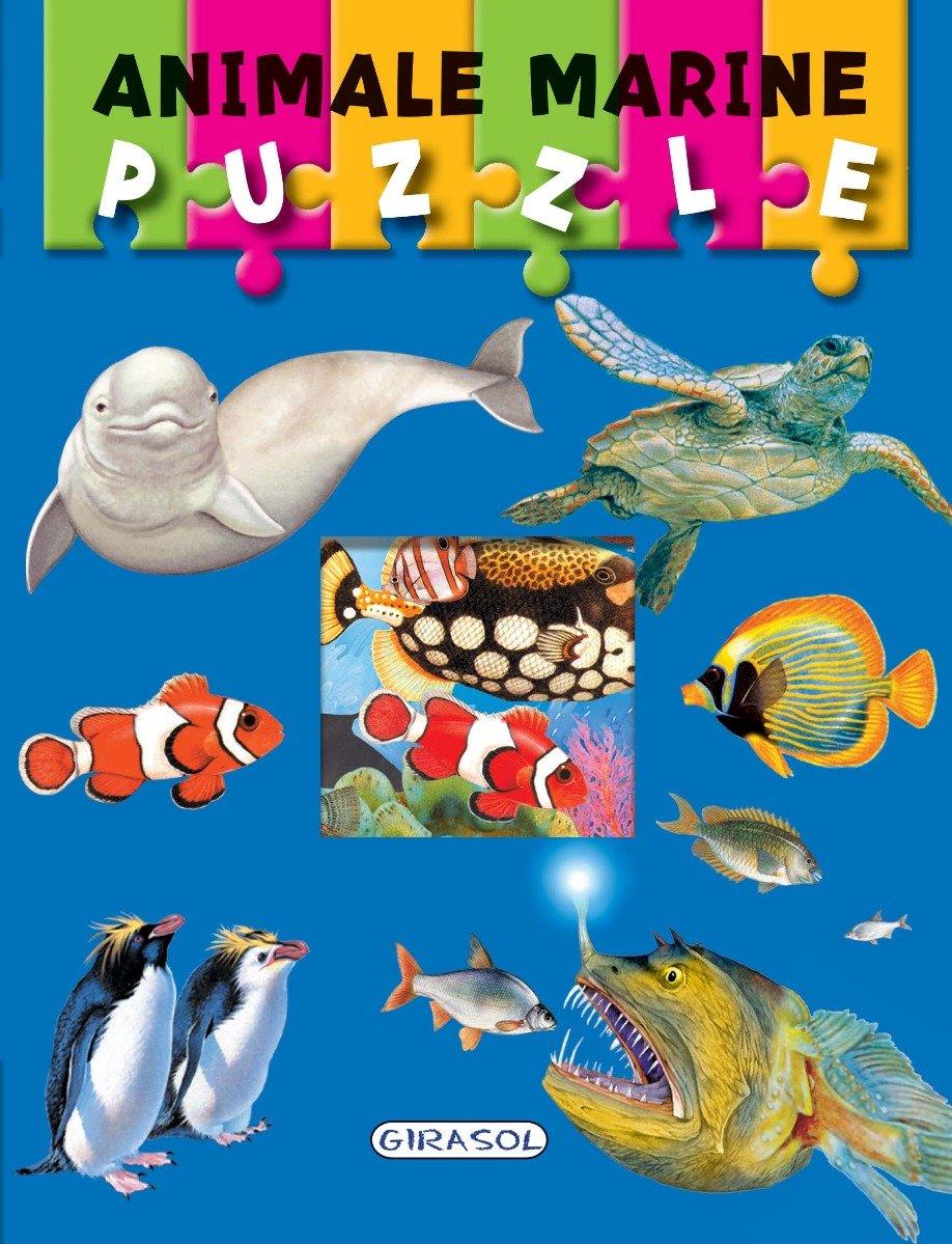Carte Puzzle Girasol, Animale marine