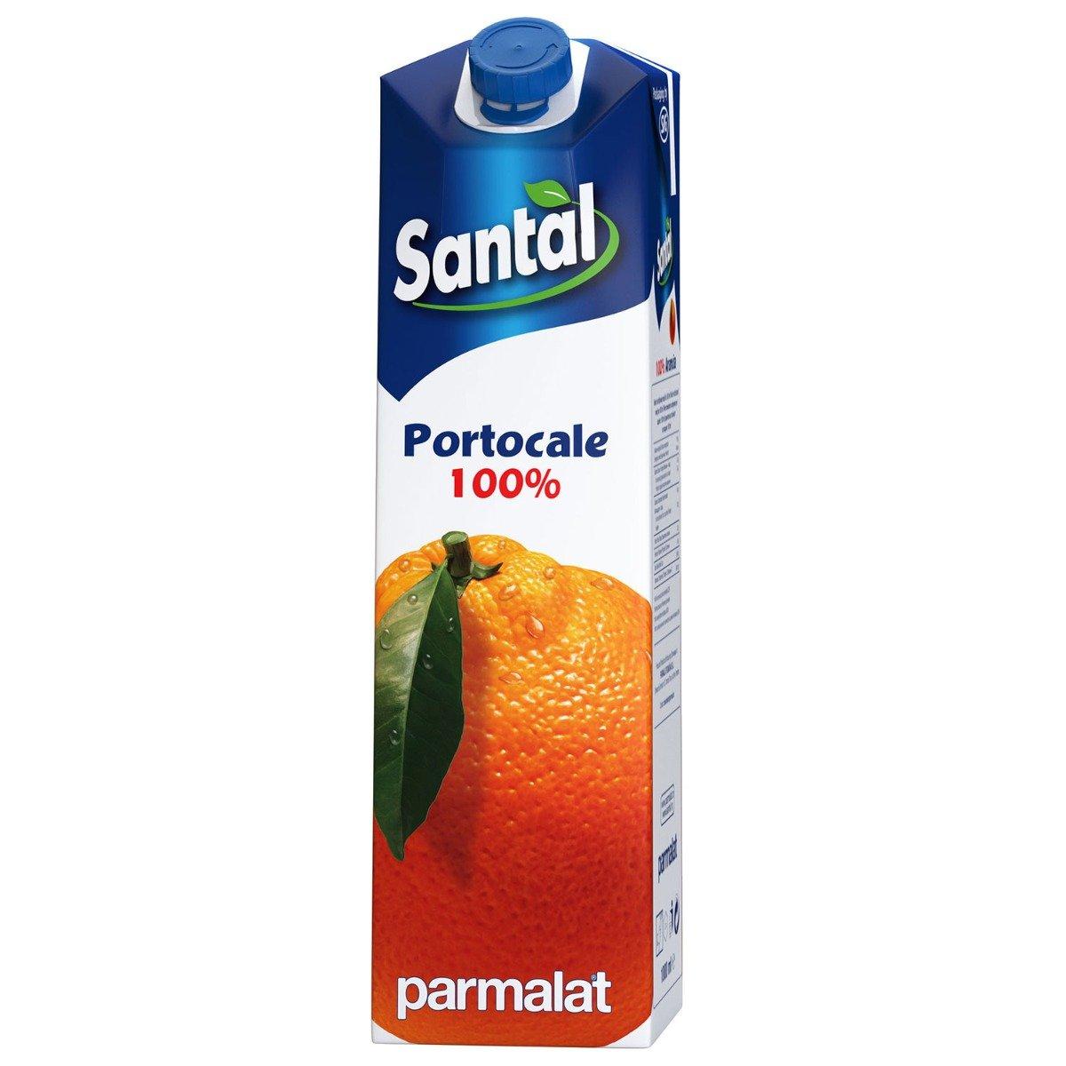 Suc natural de portocale Santal, 1 L imagine