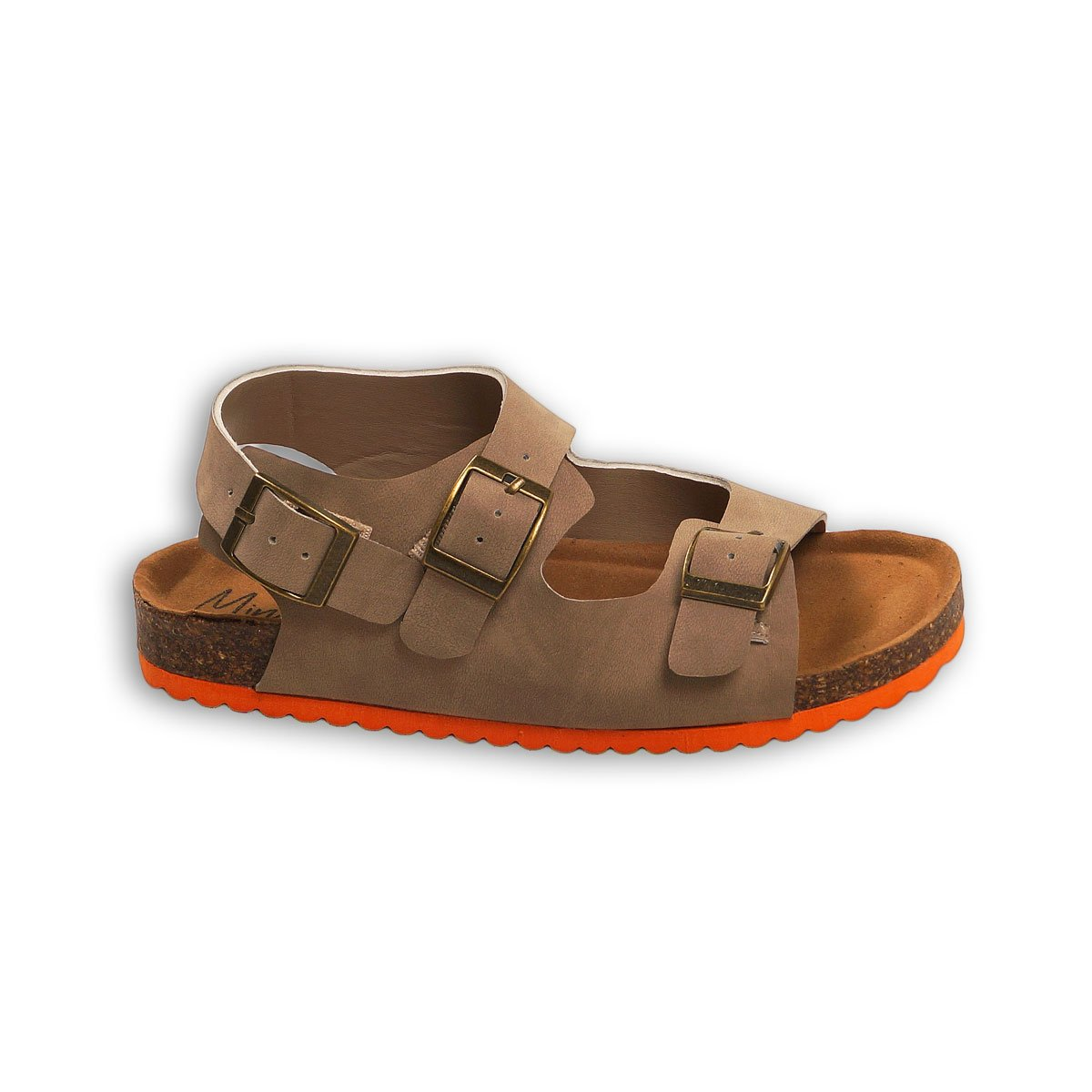 Sandale in curele duble cu catarame, Minoti Shoe