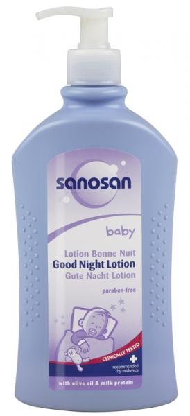lotiune cu dispenser sanosan noapte linistita, 500ml