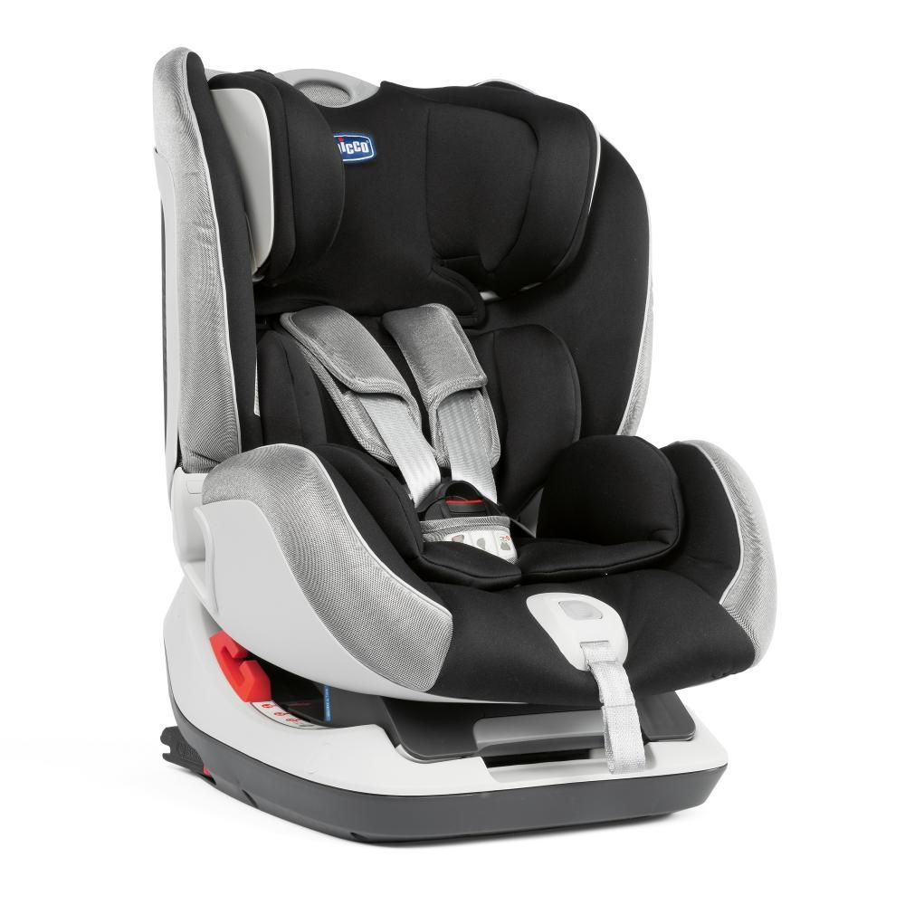 Scaun auto cu isofix Chicco Seat Up, grupa 0/1/2, 0-25 kg, Polar Silver imagine