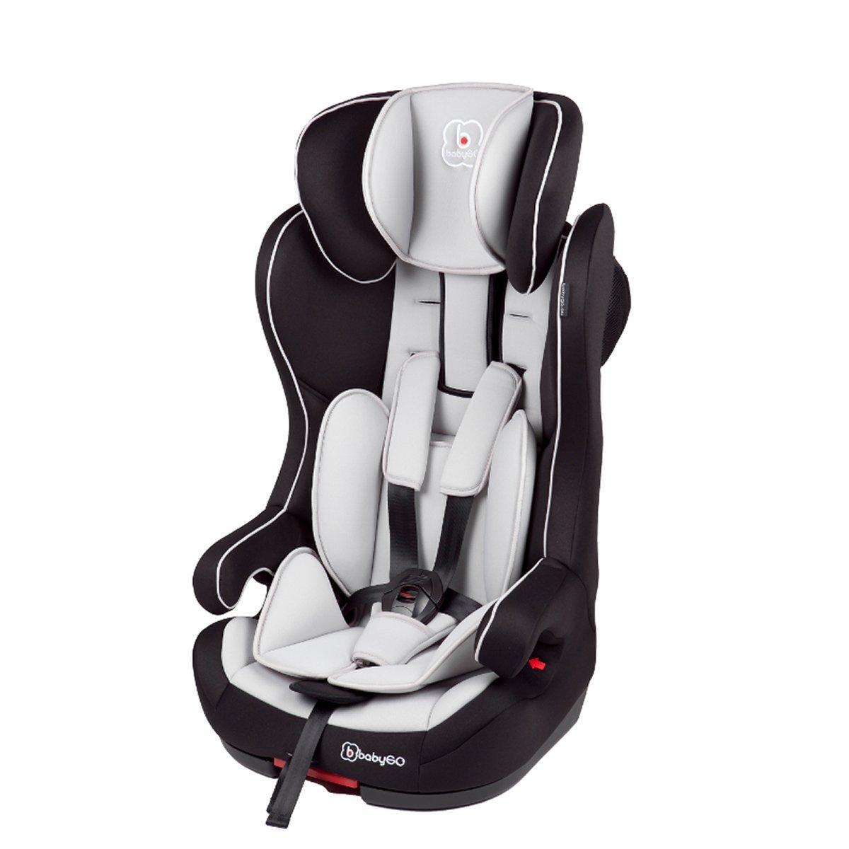 scaun auto copii babygo iso - grey