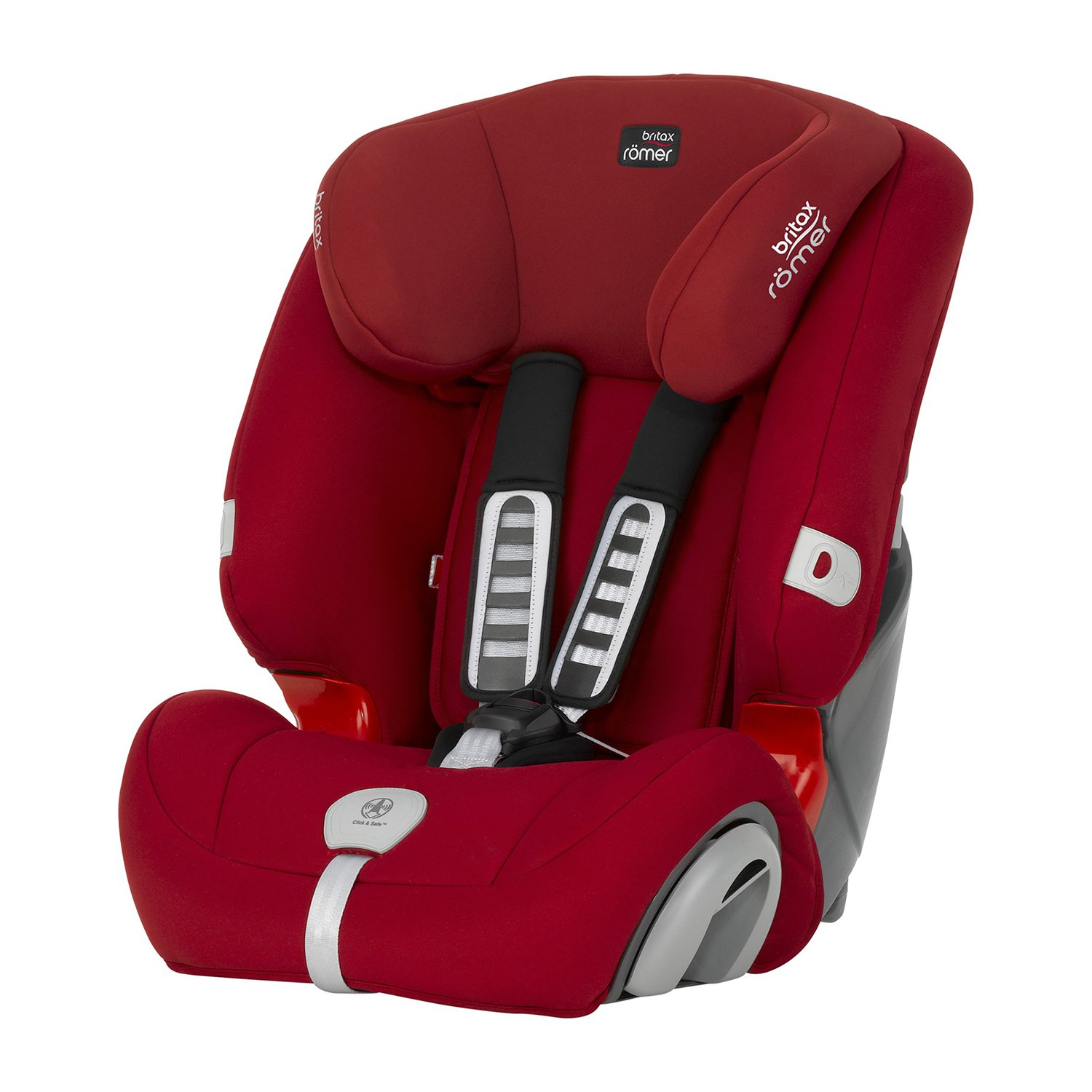 scaun auto copii britax-romer, 1 2 3 plus flame red