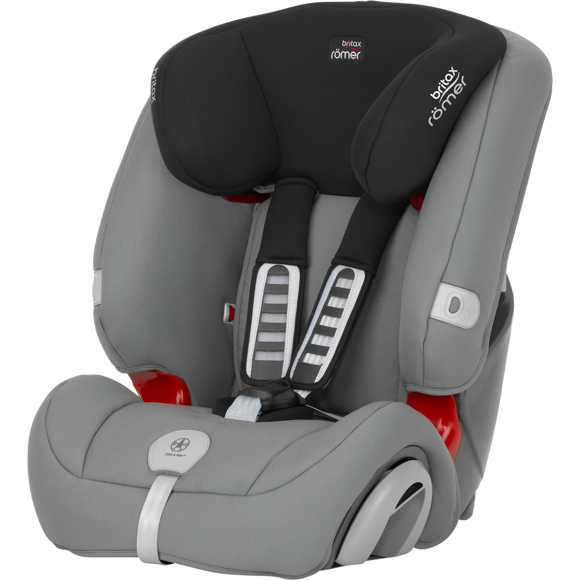 scaun auto copii britax-romer, 1 2 3 plus steel grey