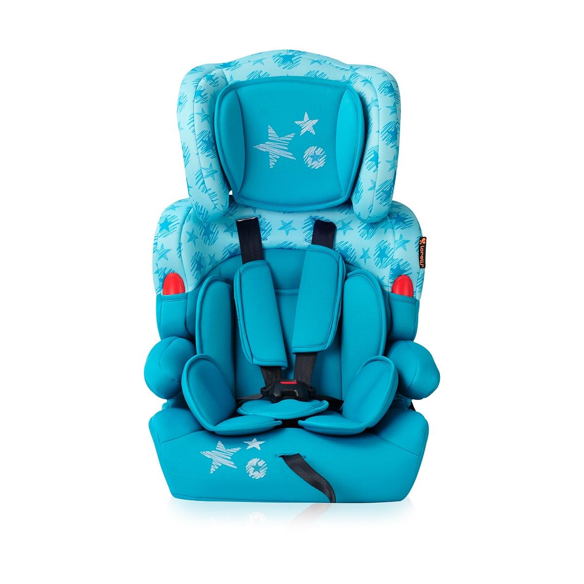 scaun auto copii lorelli classic kiddy - aquamarine stars