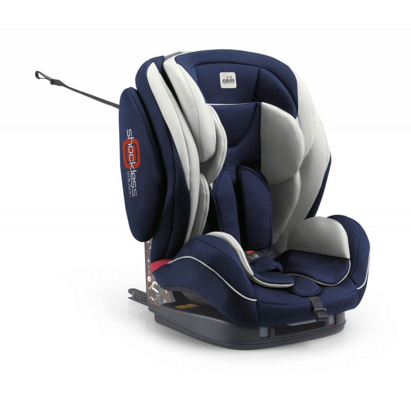 Scaun auto Cam Regolo Isofix, 36 Kg, Albastru