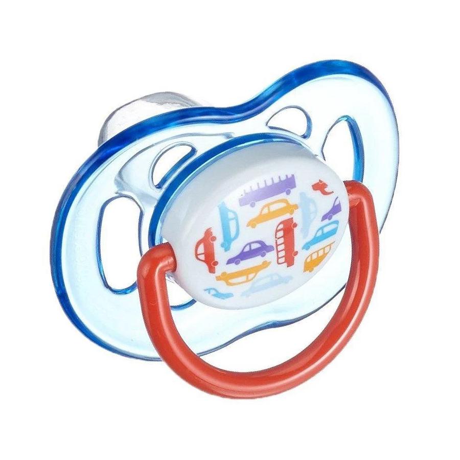 Suzeta moderna Avent SCF172/14, tetina silicon, 6 - 18 luni imagine