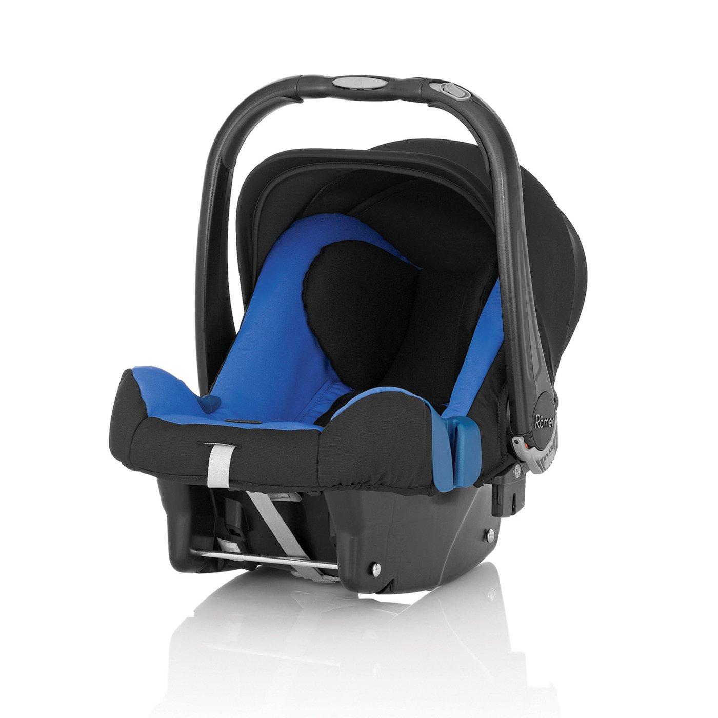 scoica auto britax - romer, baby-safe plus shr ii - sky blue