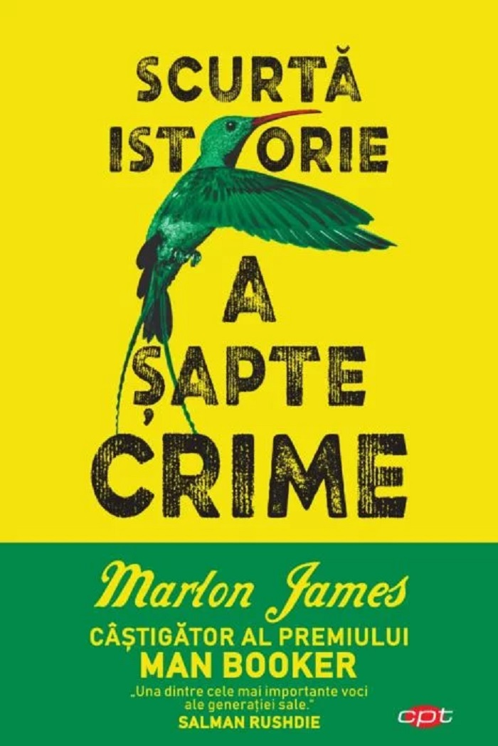 Carte Editura Litera, Scurta istorie a sapte crime, Marlon James imagine