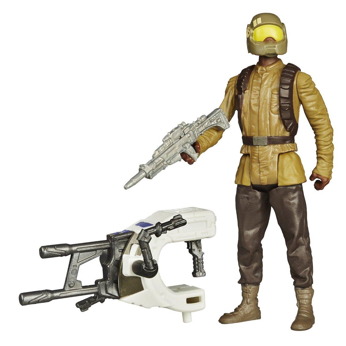 Set 2 figurine Star Wars The Force Awakens - Soldat al Rezistentei Space Mission, 9.5 cm imagine 2021