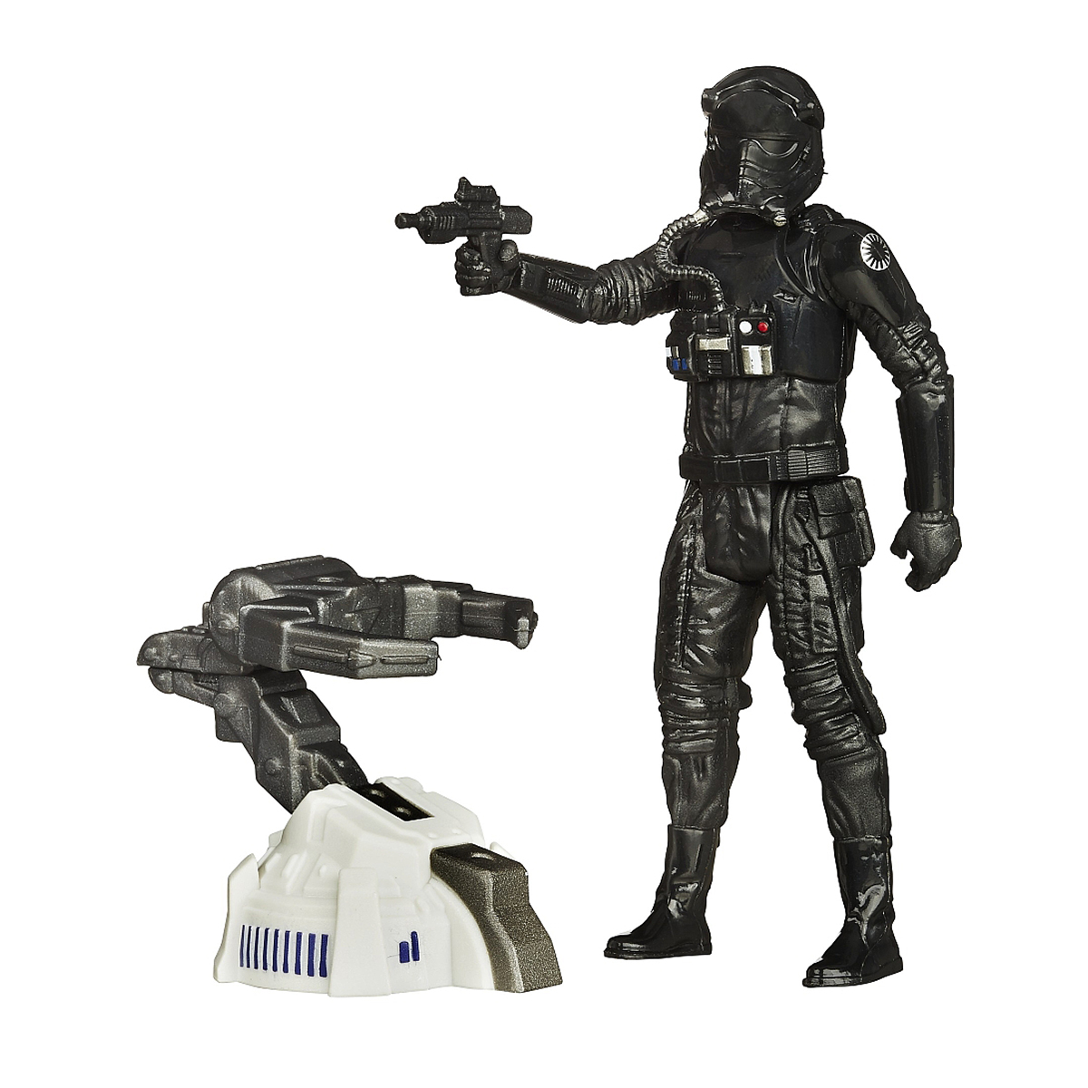 Set 2 Figurine Star Wars The Force Awakens - Tie First Order Space Mission, 9.5 cm
