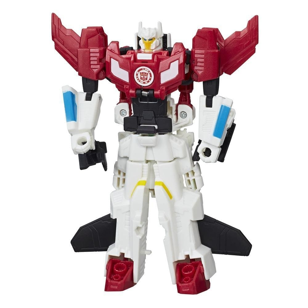 set 2 figurine transformers rid combiner force - skyhammer