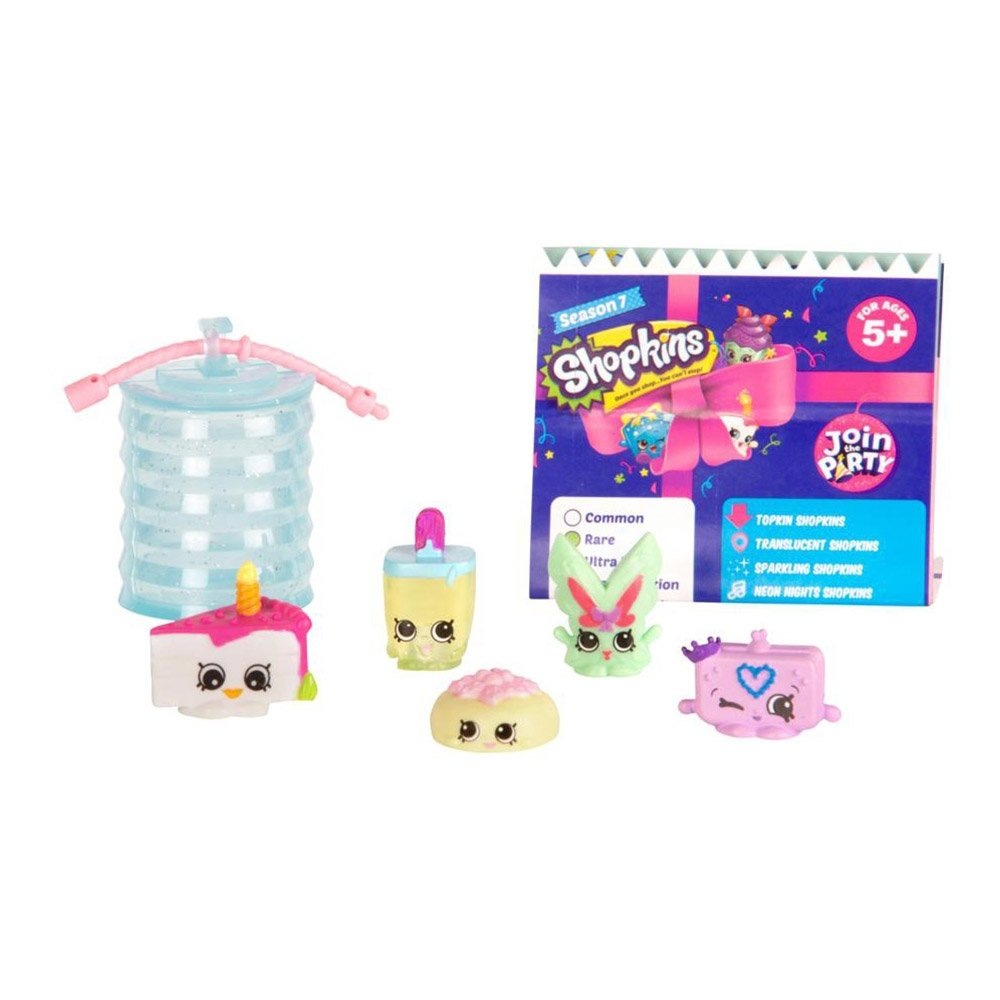 set 5 figurine shopkins sezonul 7 - join the party