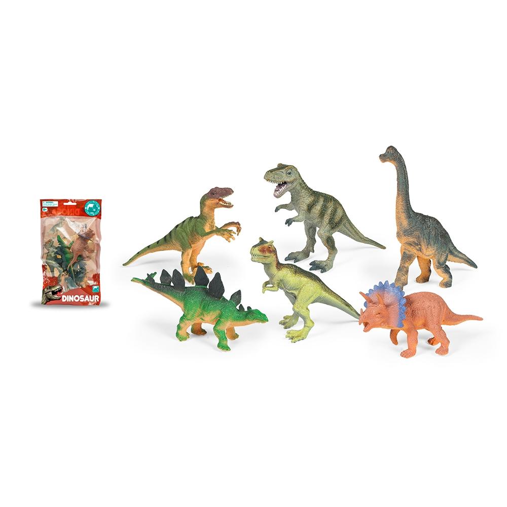 set 6 figurine dinozauri toy major