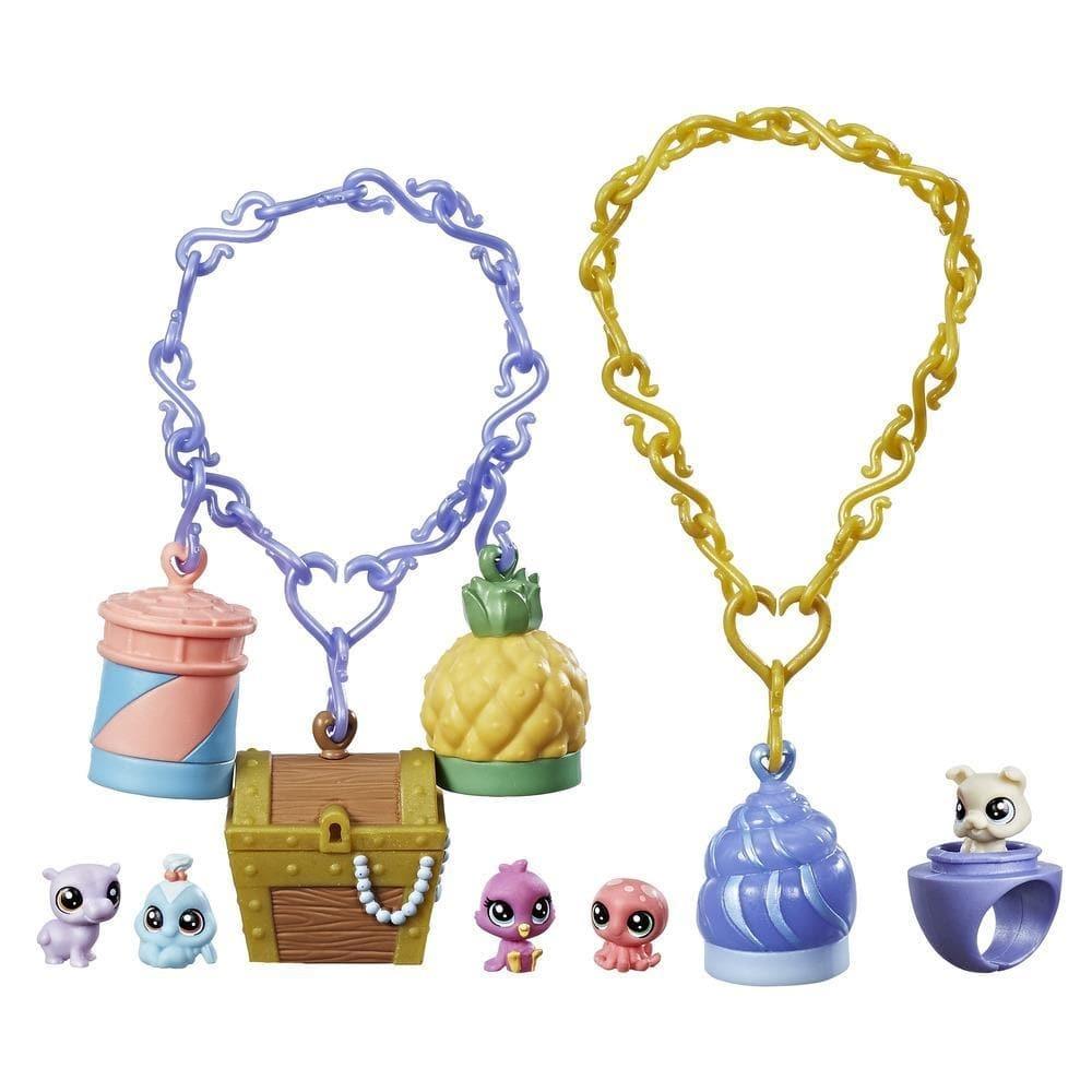 set bijuterii littlest pets shop seria 1 - comori tropicale