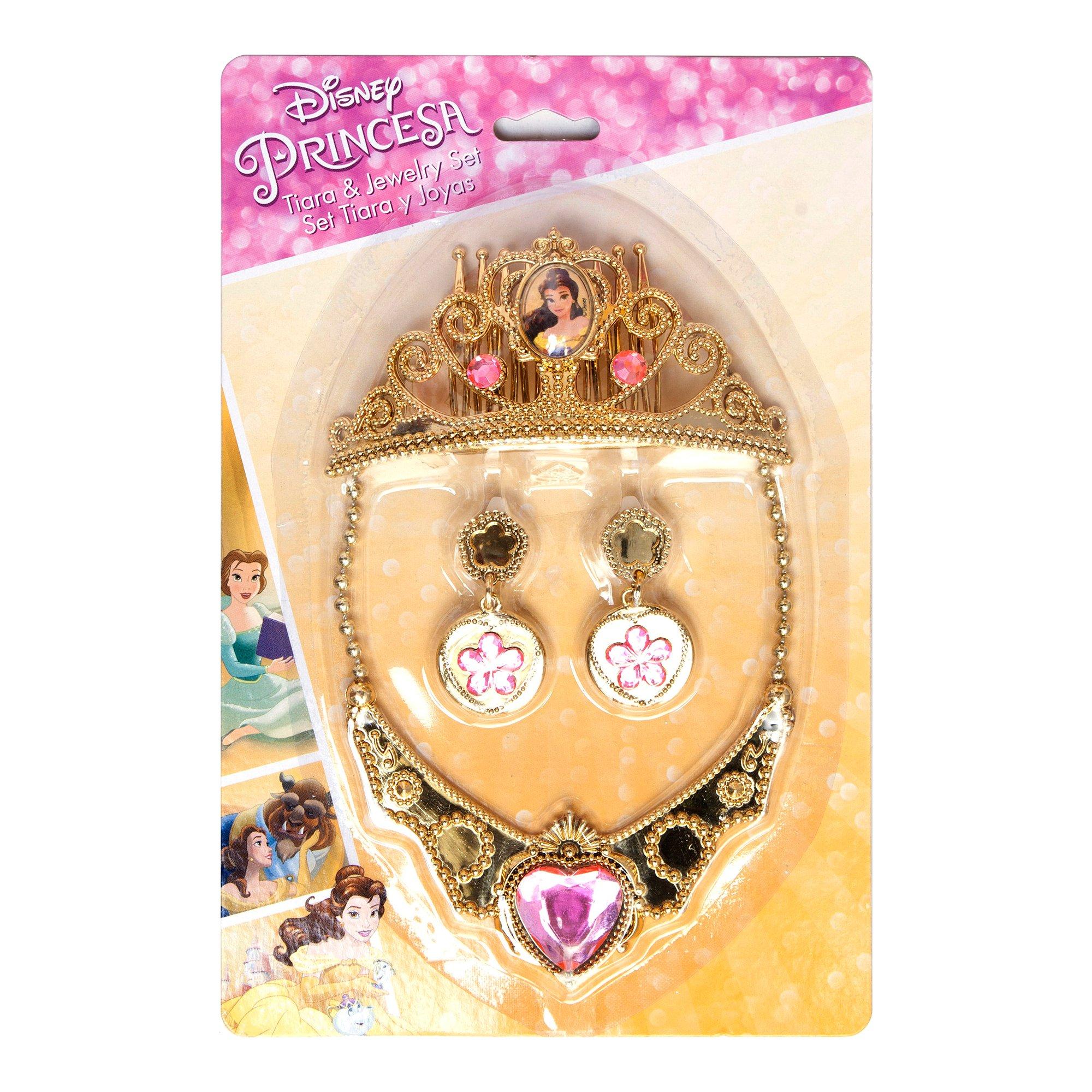 set bijuterii si diadema disney princess belle