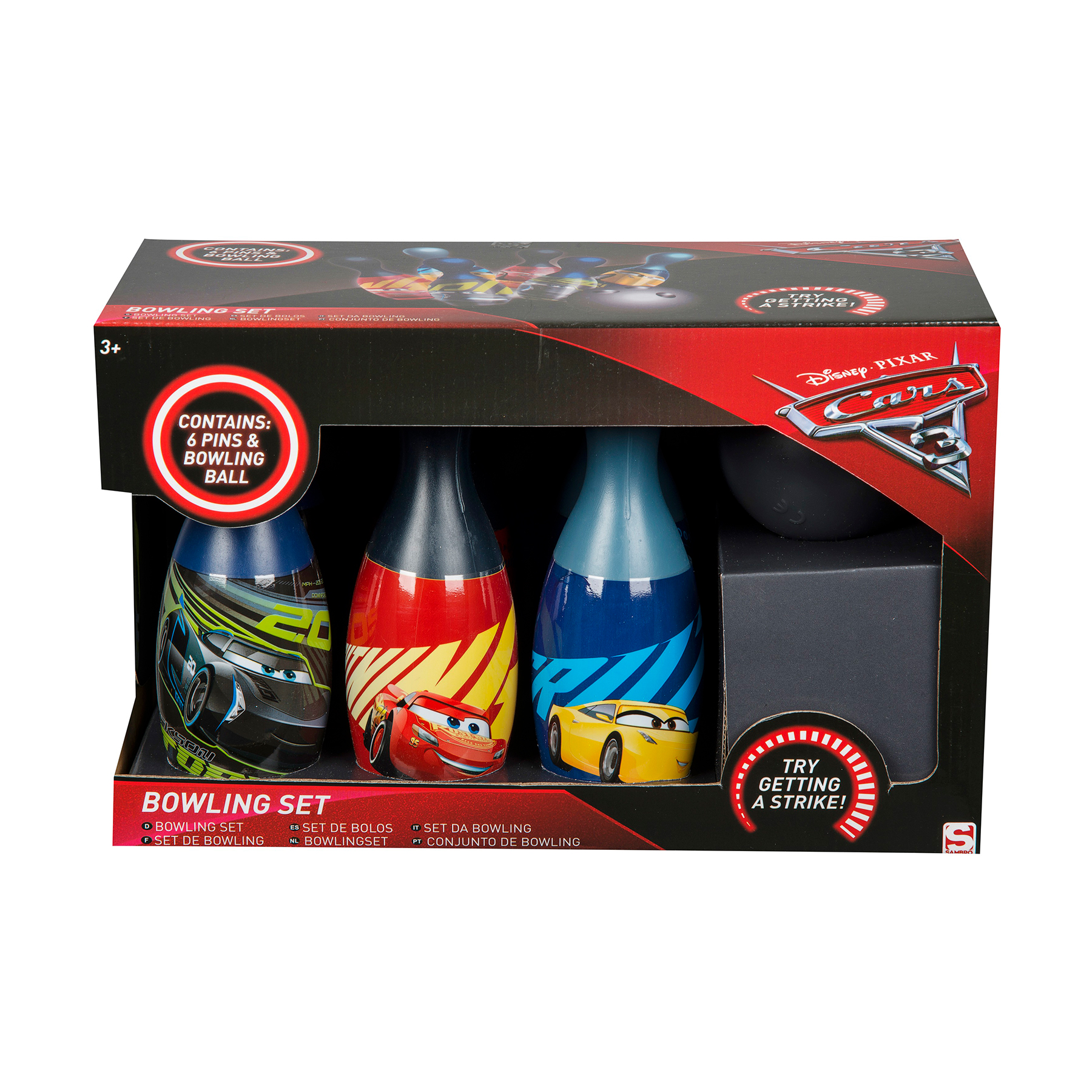 Set bowling - Disney Cars 3