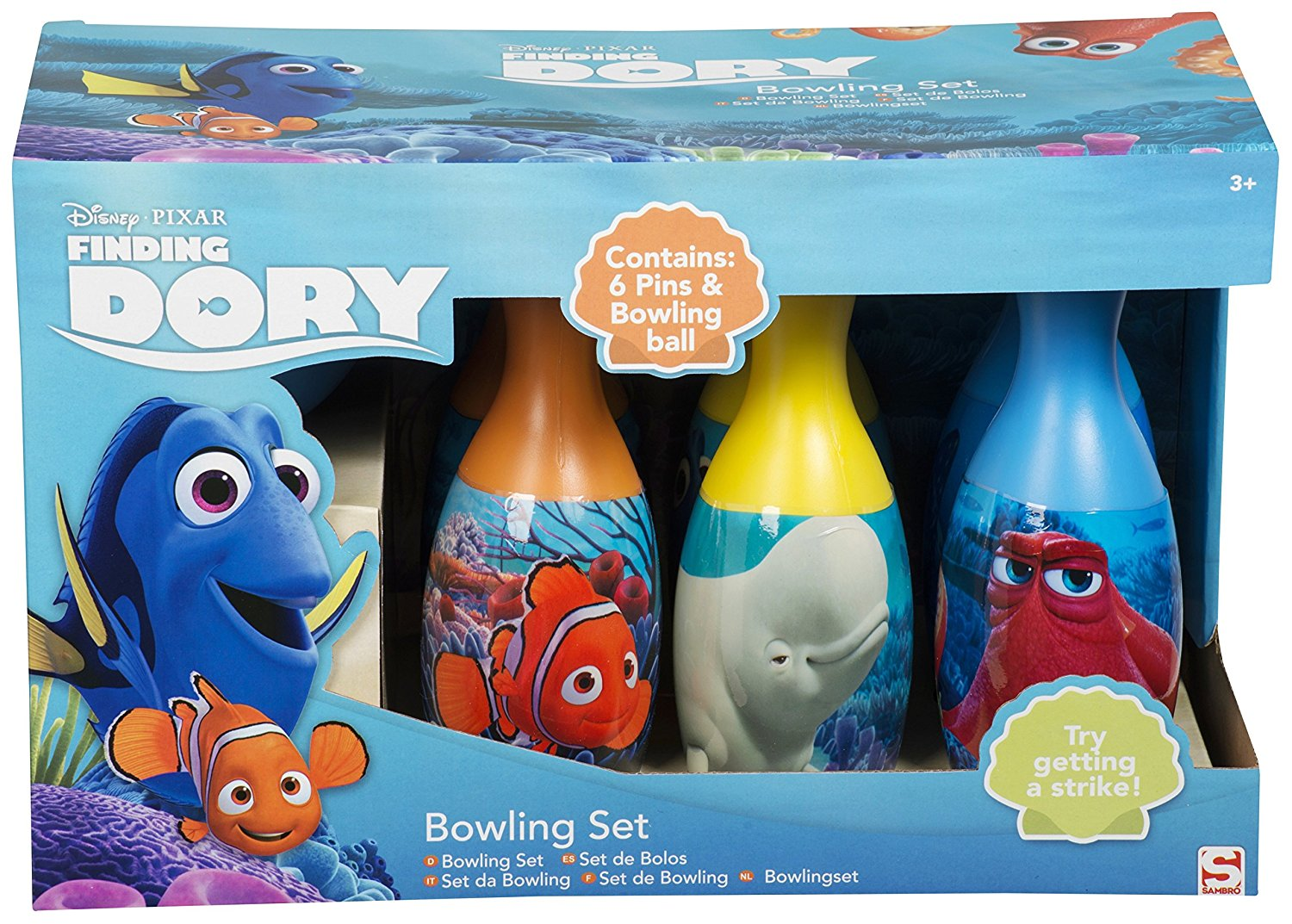 set bowling - finding dory