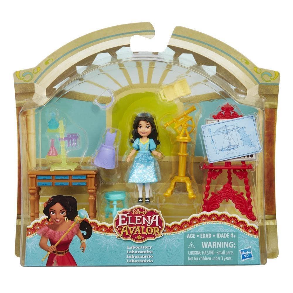 set cu figurina disney princess elena din avalor - laboratorul lui isabel