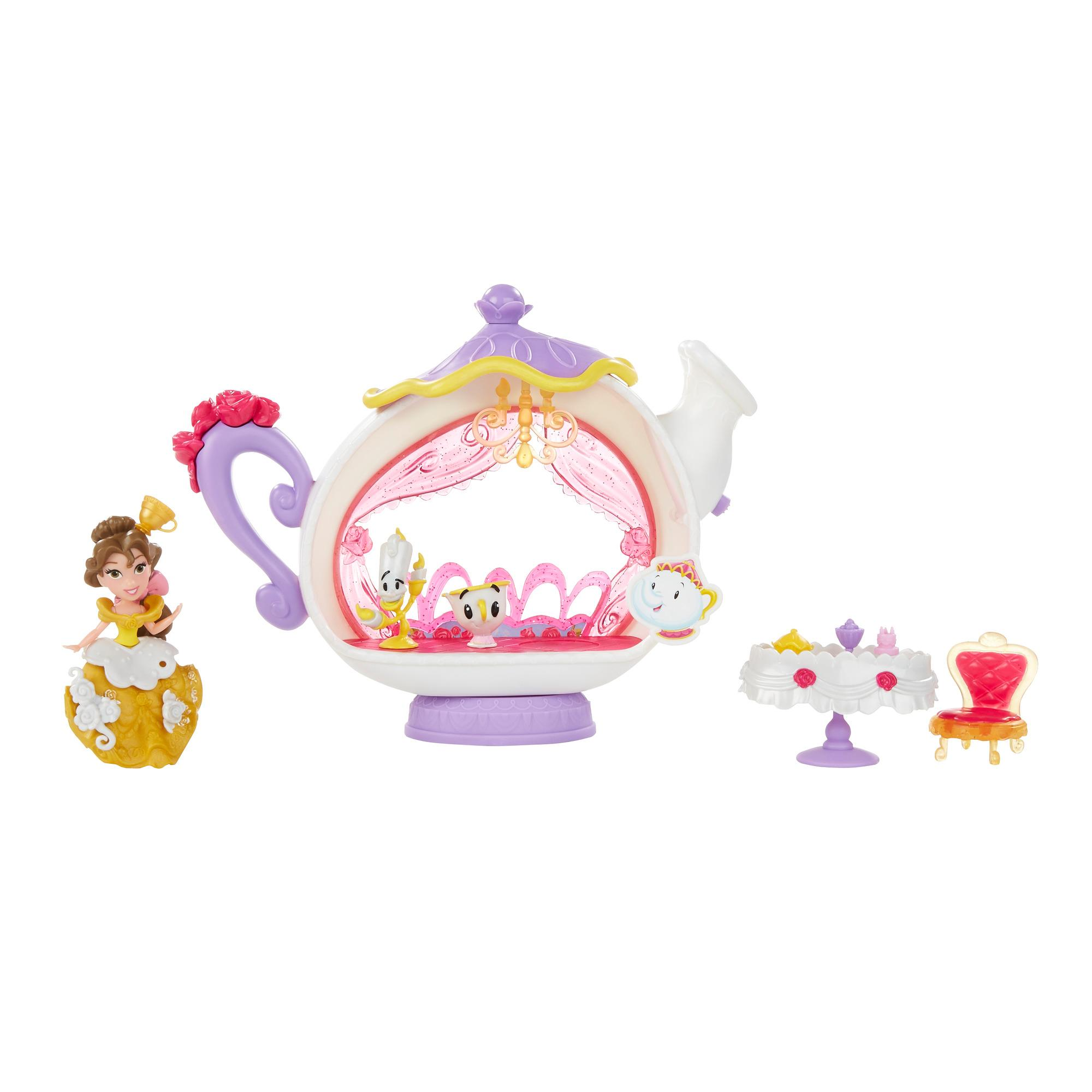 Set cu figurina Disney Princess Little Kingdom - Belle